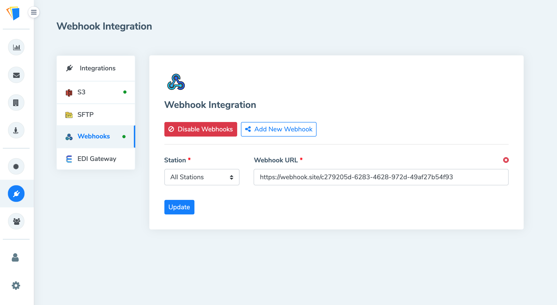 Webhook Integration
